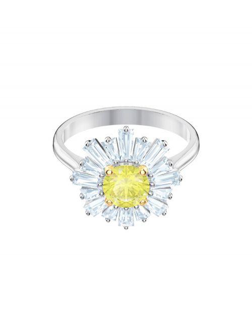 טבעת SWAROVSKI קולקציית SUNSHINE מידה 58