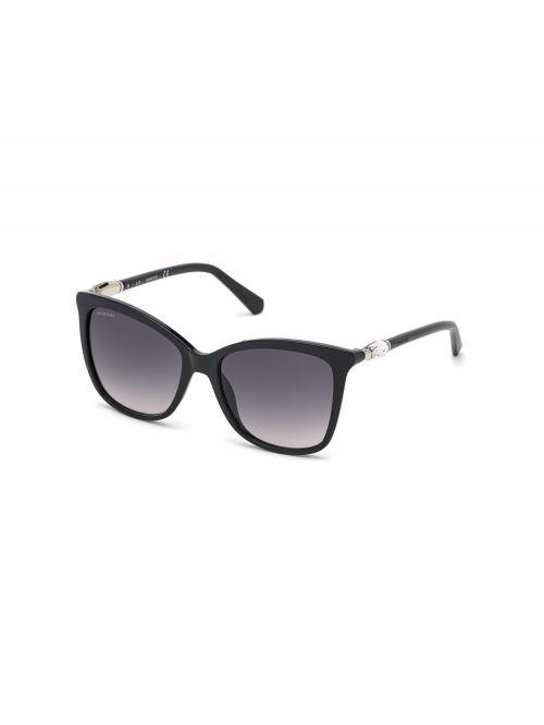 משקפי שמש SWAROVSKI לאישה בצבע שחור דגם 5483810