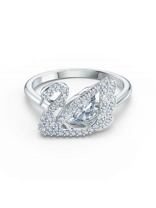 טבעת SWAROVSKI קולקציית DANCING SWAN