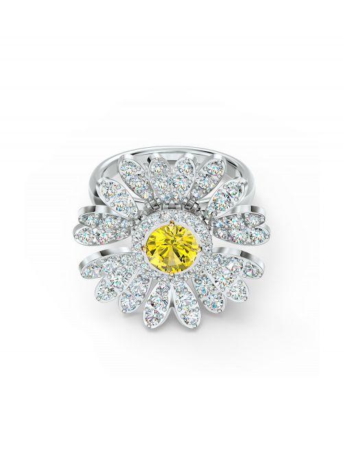 טבעת SWAROVSKI לאישה קולקציית FLOWER דגם 5534936 מידה 52