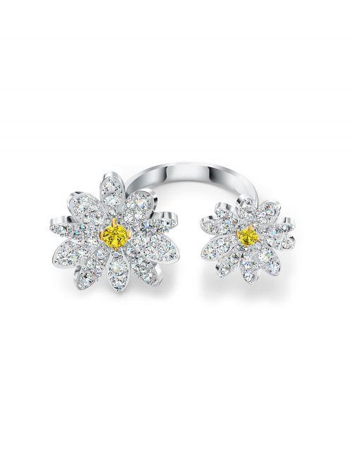 טבעת SWAROVSKI קולקציית ETERNAL FLOWER מידה 50