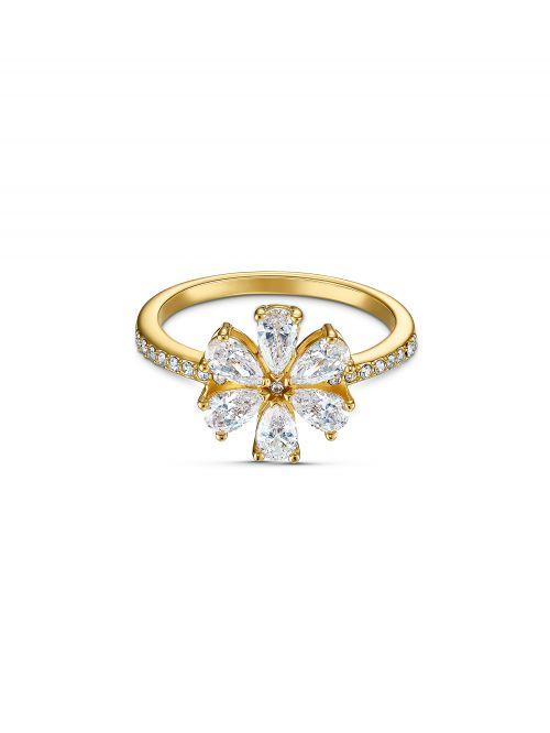 טבעת SWAROVSKI קולקציית BOTANICAL מידה 60