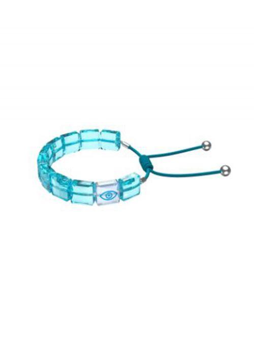 צמיד כחול SWAROVSKI קולקציית LETRA דגם 5614971