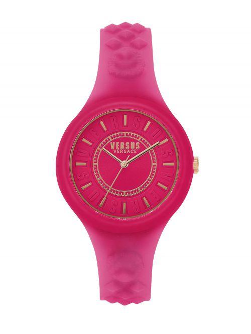 שעון יד VERSUS VERSACE סיליקון ורוד דגם SOQ1317