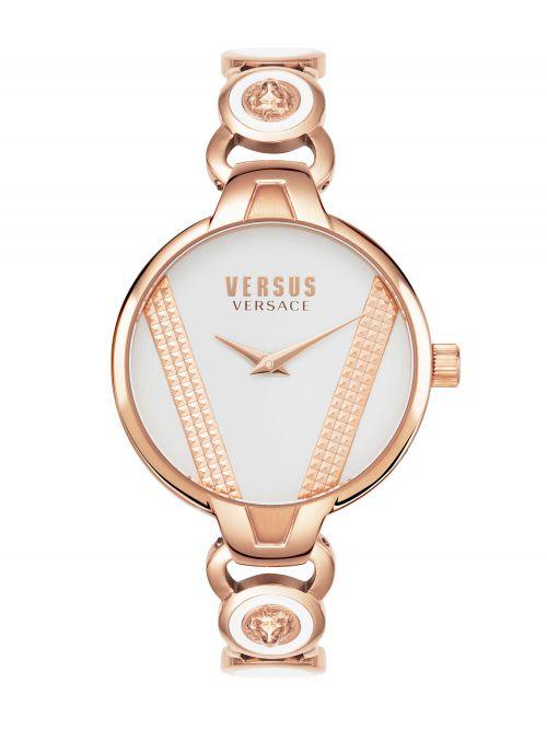 שעון יד VERSUS VERSACE בצבע זהב אדום דגם VSPER0419