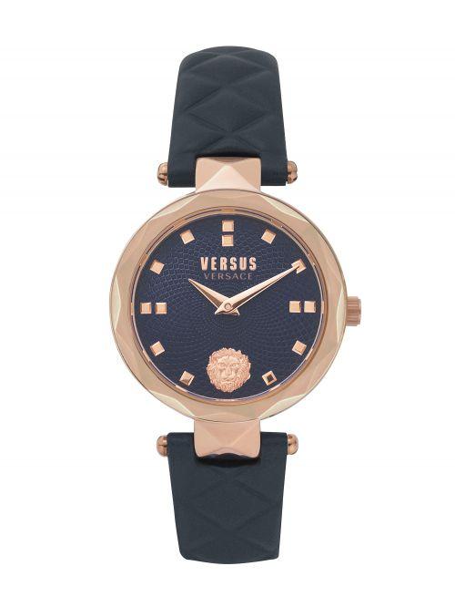 שעון יד VERSUS VERSACE לאישה עם רצועת עור דגם VSPHK0420